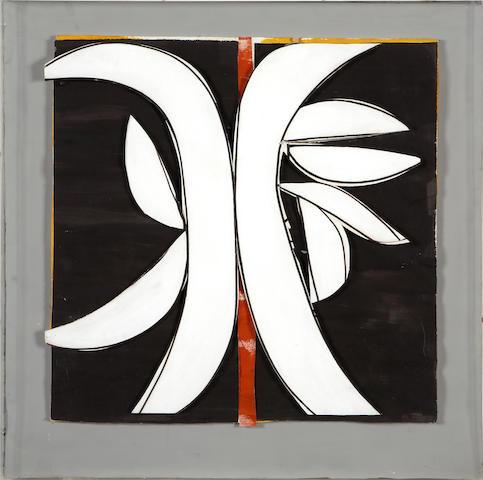 Judith Rothschild (American, 1921-1993) Rubrum VI, 1980 22 5/8 x 22 5/8in (57.5 x 57.5cm)