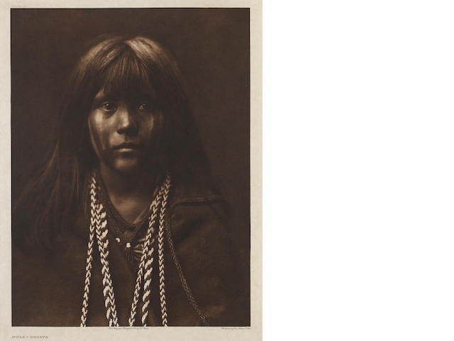 Edward S. Curtis (American, 1868-1952); Mósa-Mohave, from The North American Indian;