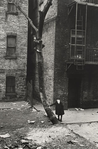 Helen Levitt (American, 1918-2009); New York (Masked Boys);