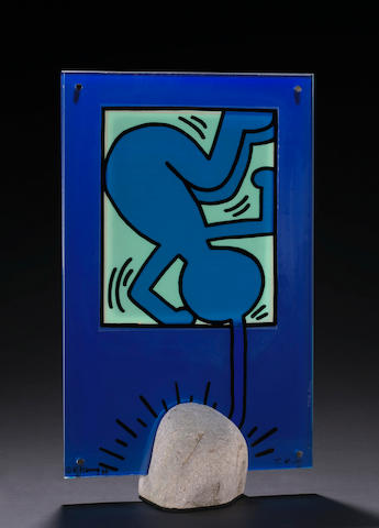 Keith Haring (American, 1958-1990); and Toshiyuki Kita (Japanese, born 1942) On Taro;