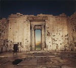 Richard Misrach (American, born 1949); Lindos; Parthenon Interior; (2)