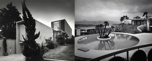 Julius Shulman (American, 1910-2009); San Diego and La Jolla Architectural series,; (10)