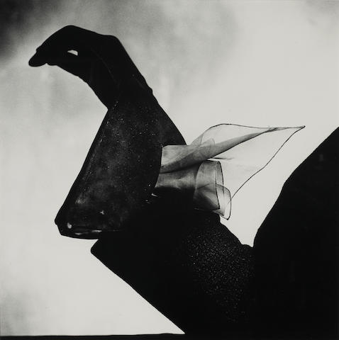 Irving Penn (American, born 1917); Dior's kerchief-Glove, Paris;