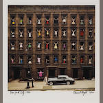 Ormond Gigli (American, born 1925); Girls in Windows, New York City;