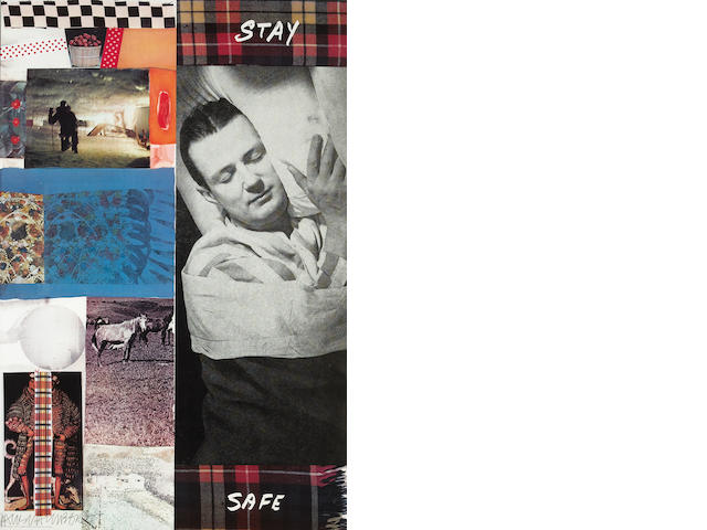 Edward Ruscha (American, born 1937); and Robert Rauschenberg (American, 1925-2008) Stay Safe;
