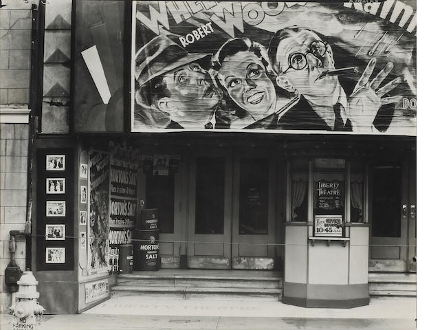 Walker Evans (American, 1903-1975); Move Theater, New Orleans, Louisiana;