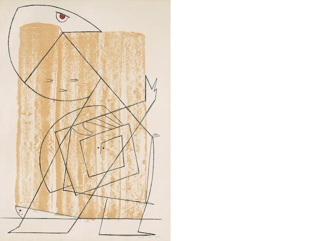 Max Ernst (French, 1891-1976); L'Homme à la Lisière de la Fôret;