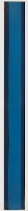 Barnett Newman (American, 1905-1970); The Moment, from Four on Plexiglas;