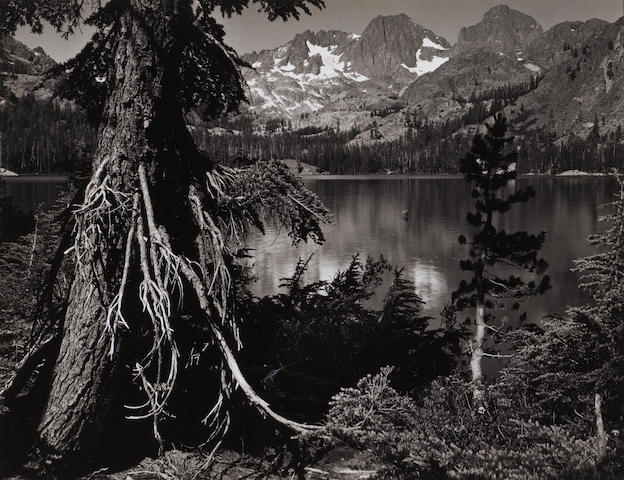 Ansel Adams (American, 1902-1984); Shadow Lake, Mount Ritter, and Banner Peak;
