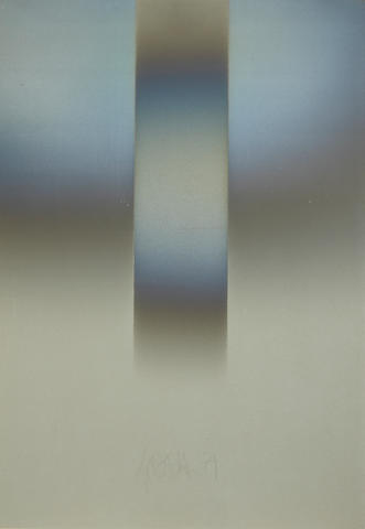 Larry Bell (American, born 1939) VFGY9, 1979 39 x 27in