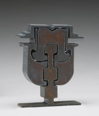 Mark di Suvero (American, born 1933) Untitled, 1972 most compact arrangement 10 x 8 x 2in