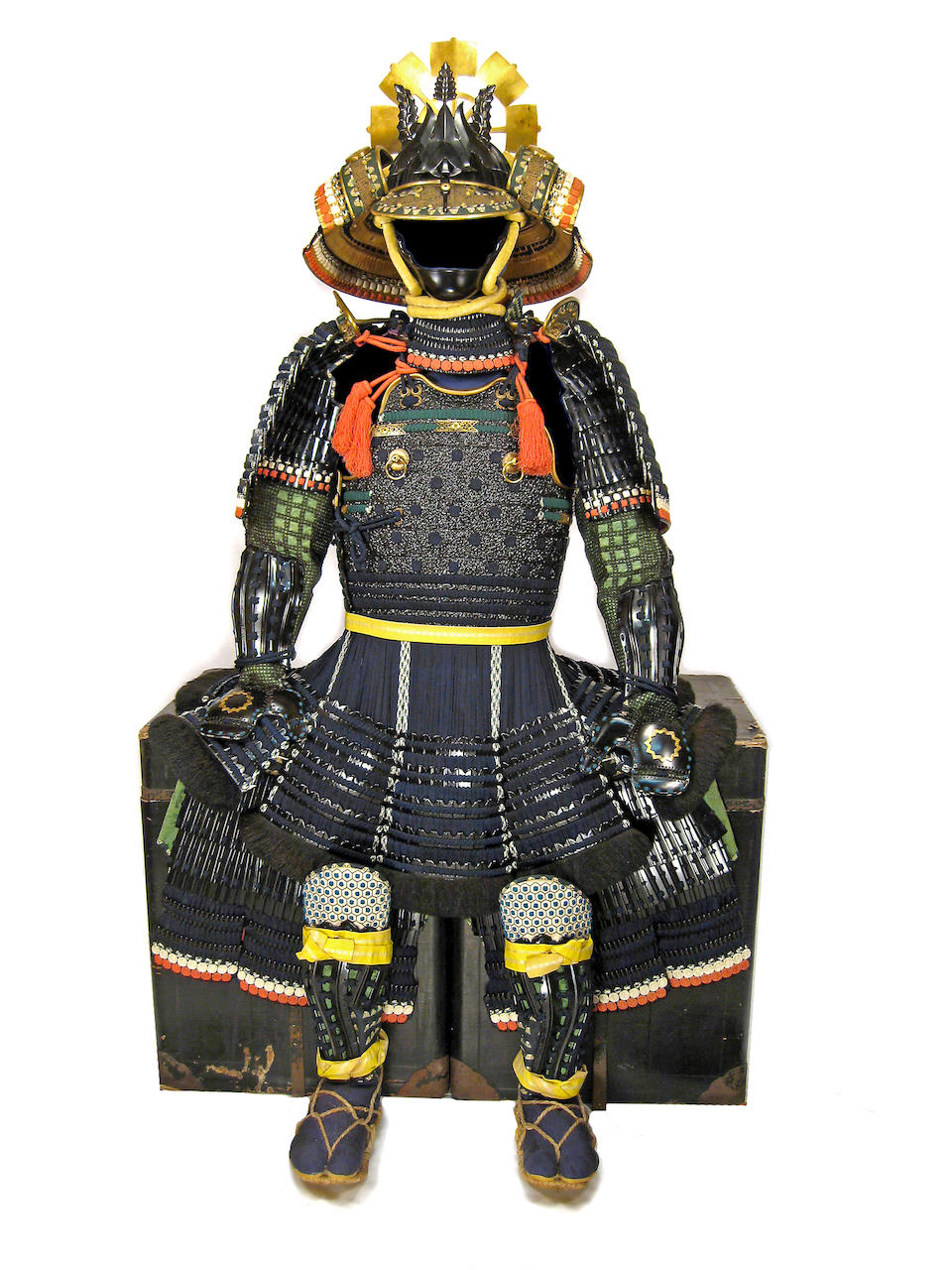 A BLACK-LACQUER NERIGAWA SUIT OF ARMOR Edo period (19th century)