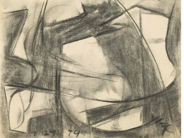 Claire Falkenstein (American, 1908-1997) Untitled, 1979 9 x 11 3/4in