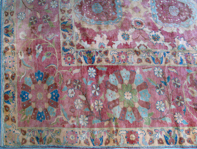 A Turkish carpet size approximately 15ft. x 18ft. 1in.