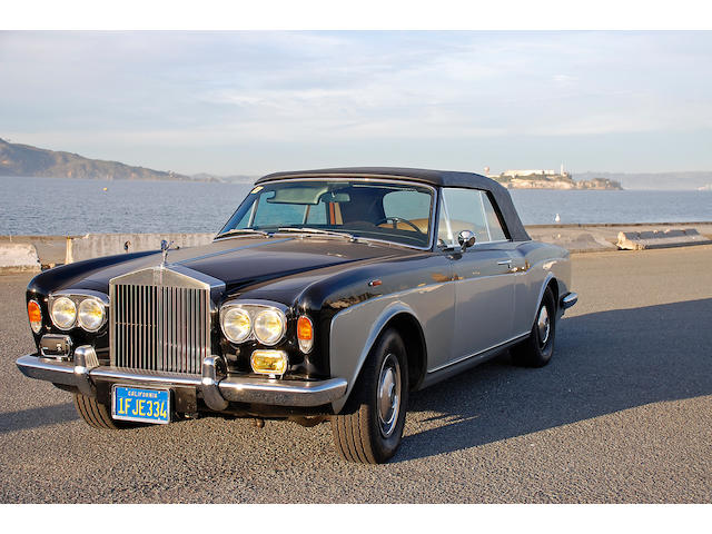 1975 Rolls-Royce Corniche Convertible  Engine no. 19178