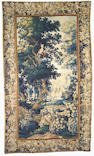 A Napoleon III aubusson tapestry <br>third quarter 18th century