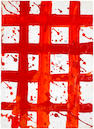 Sam Francis (American, 1923-1994) Untitled, 1980 (SF80-669) 19 1/4 x 13 7/8in