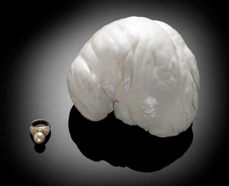 """Rare and Immense Natural Non-Nacreous Pearl—""""The Palawan Princess"""""""