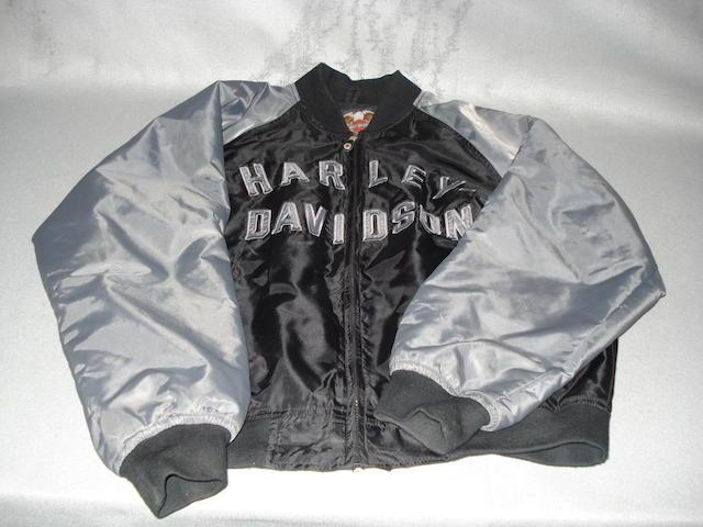 A Harley-Davidson 'bomber' jacket