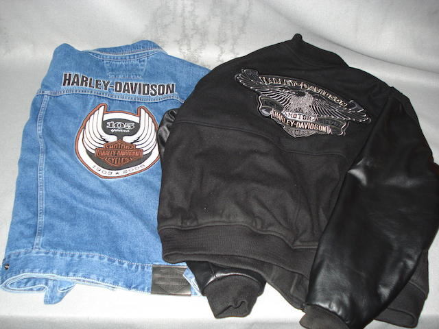 Two Harley-Davidson jackets,