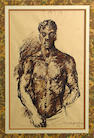 Pavel Tchelitchew (Russian, 1898-1957) ink 8 x 12in