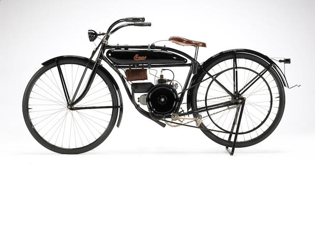 1921 Evans Power Cycle Frame no. C-1564 Engine no. 32073