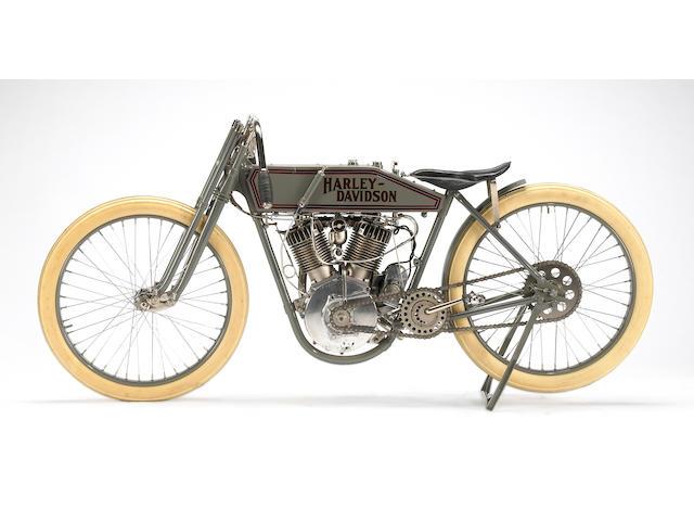 1915 Harley-Davidson Model 11K Boardtrack Racer Engine no. A795