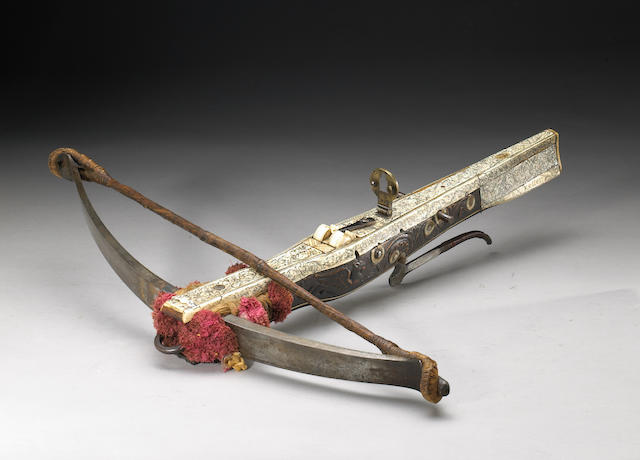 A German sporting crossbow by G.H. Keller