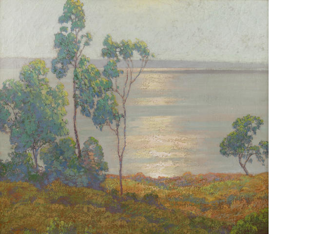 Maurice Braun (American, 1877-1941) Morning Sun, San Diego Bay (from Point Loma) 24 1/4 x 28 1/4in