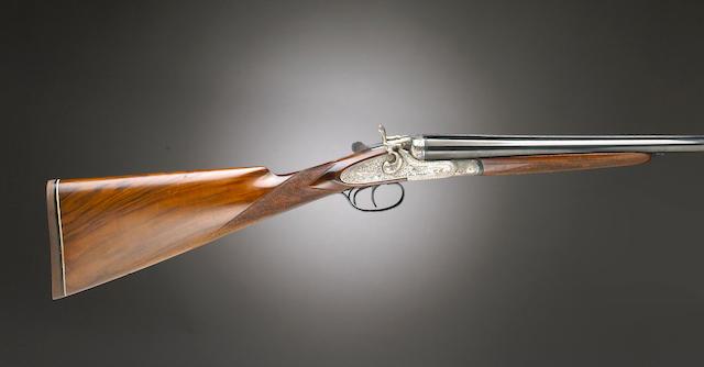 Bonhams : An Italian double barrel hammer gun two barrel ...