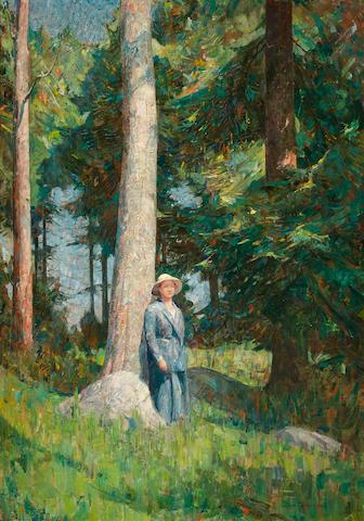 Dines Carlsen (American, 1901-1966) Sunlight 50 x 36in
