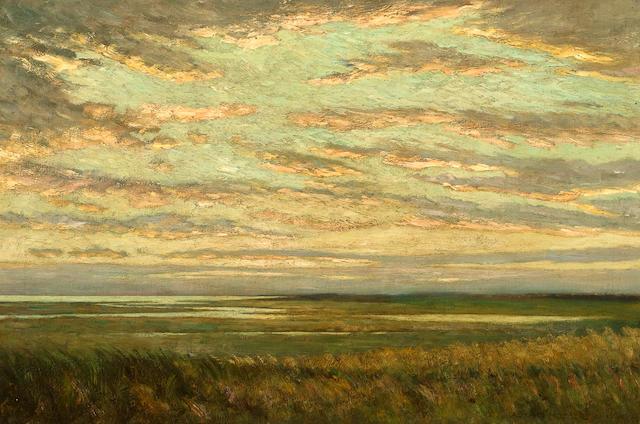 Arthur Hoeber (American, 1854-1915)  Cape Cod 20 x 30in