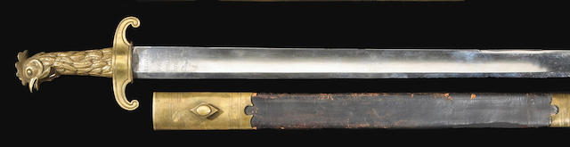 A French sapper's sword