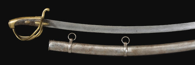 A French Model An XI light cavalry saber