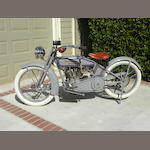 1917 Harley-Davidson Model T Twin Engine no. 17T1127