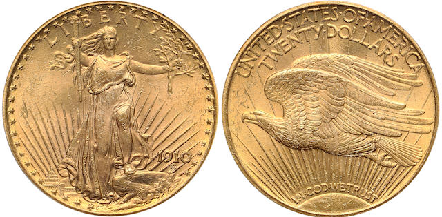 1910 $20 Double Eagle PCGS MS64 (PCGS 9154)