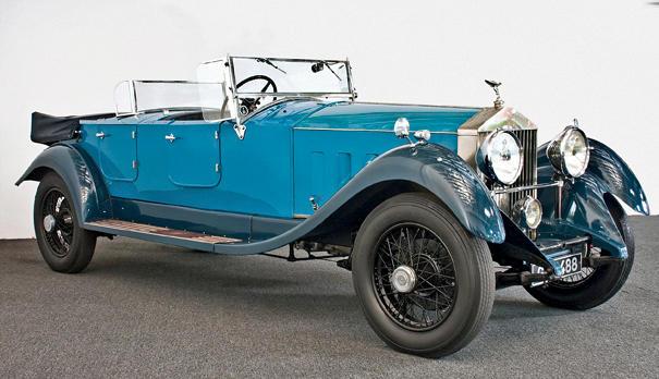 1929 Rolls-Royce Phantom II Dual Cowl Touring  Chassis no. 196 XJ Engine no. GB 75