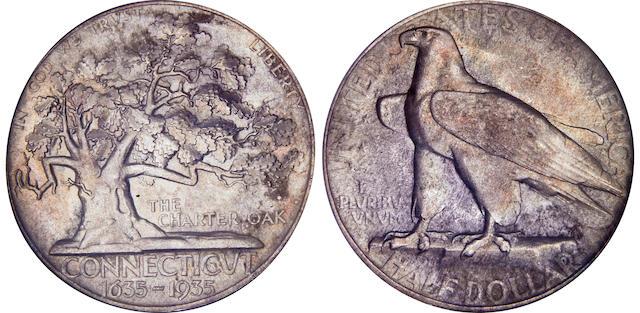 1935 Connecticut 50C MS67 NGC
