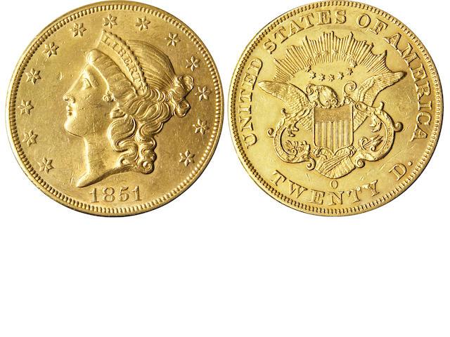 1851-O $20 (PCGS 8905)