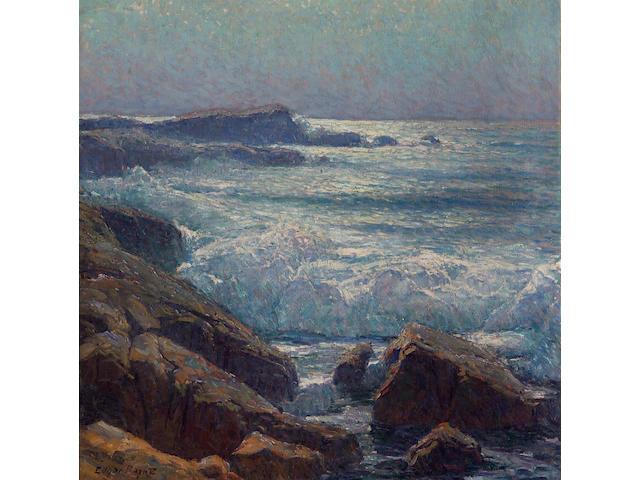 Edgar Payne (1883-1947) Waves on the California Coast 43 x 43in