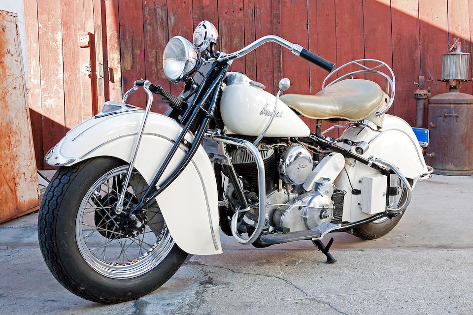 The ex-Steve McQueen,1940 Indian 74ci Chief Frame no. 341248 Engine no. CDO2863B