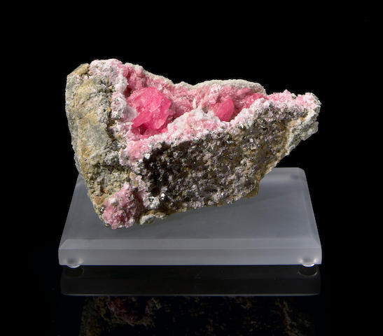 Rhodochrosite in Pocket