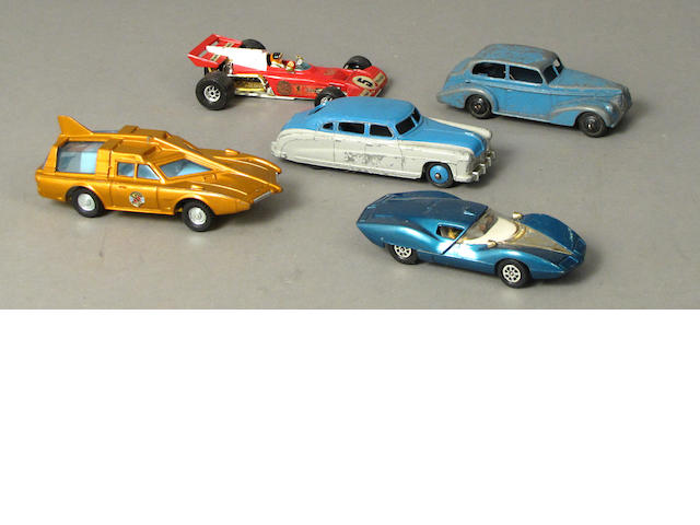 British Scaled toy cars