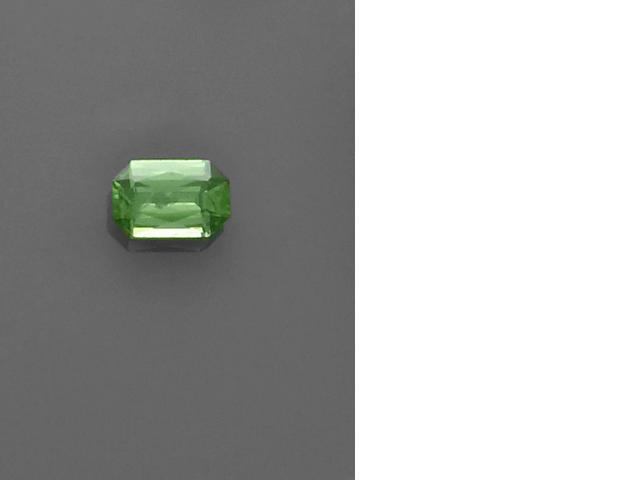Rare Green Zircon