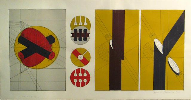 Arnaldo Pomodoro (Italian, born 1926); Technische kompositionen;