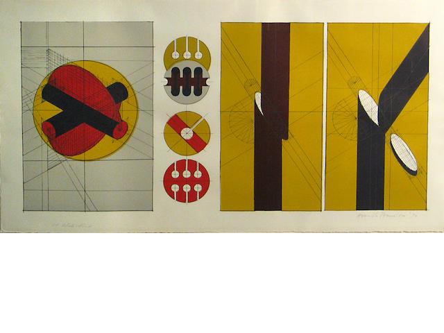 Arnaldo Pomodoro, Technische kompositionen;