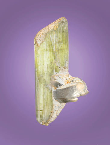 Spodumene and Quartz Crystal Group
