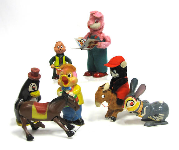 Assorted American/Foreign toy animals