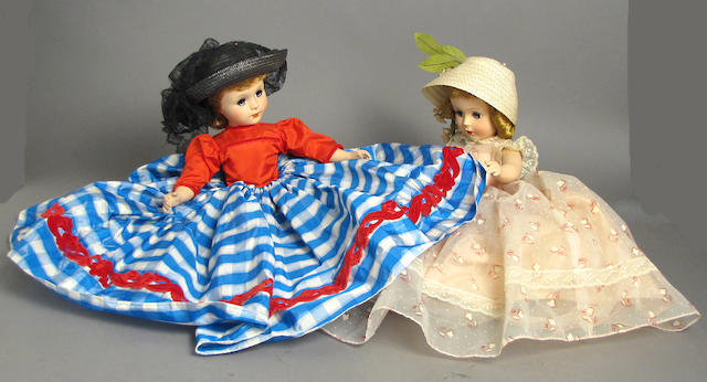 Madame Alexander/Composition dolls