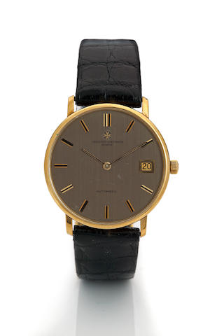 Vacheron & Constantin. An 18K gold automatic calendar wristwatchRef. 2050Q, case no. 489513, movement no. 657236, 1980's